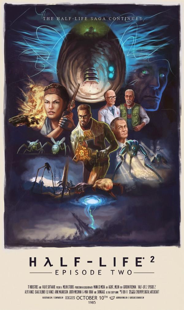 pósters cinematográficos de videojuegos 11