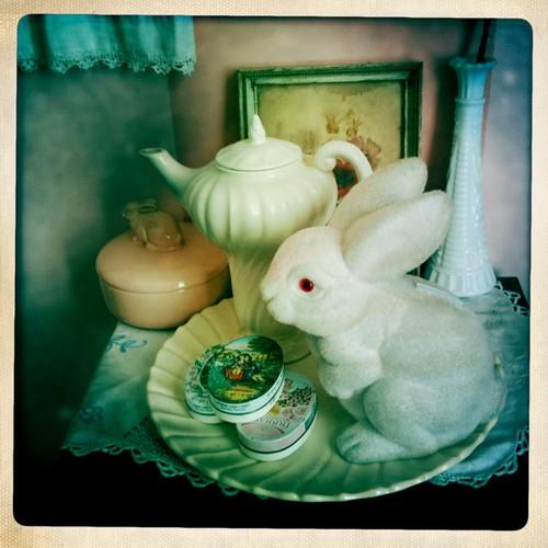 bunny teaparty