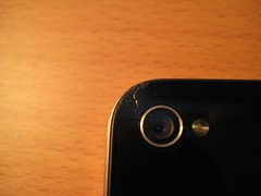 iPhone4 背面ガラス破損