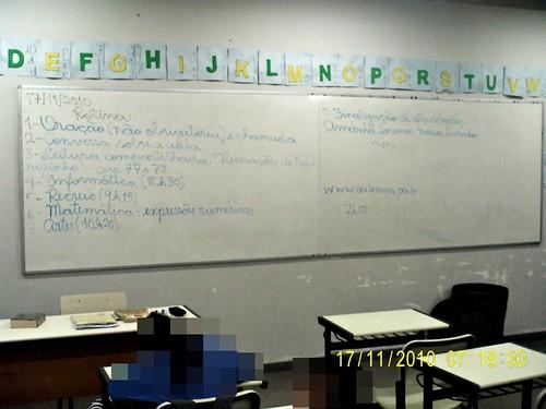 Rotina Prevista - e cumprida (17/11/2010)