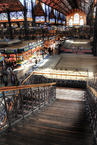 Central market. Budapest. Mercado central