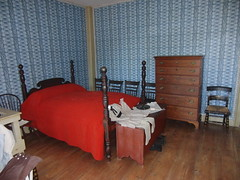 Child's bedroom in the Towne House