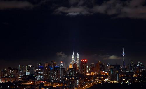 Kuala Lumpur city skyline2_35mm