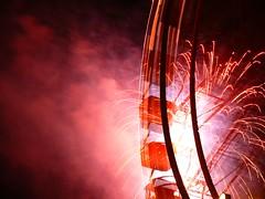 10-09-09 Explosiv (ellie_pirelli_0306) Tags: light festival stars fire licht firework oktoberfest fest bigwheel feuer riesenrad sterne feuerwerk rosenheim herbstfest explosiv germanbierfestival rosenheimerwiesn