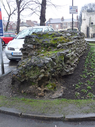 Roman Fortress Wall, York
