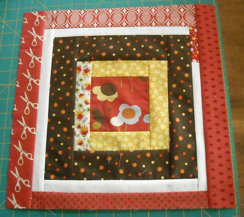 bee beautiful November block