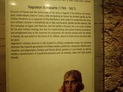 Napoleon at Dor museum