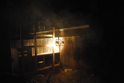 Smokey night