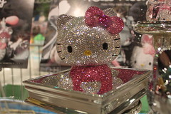 hello kitty sephora display (iheartkitty) Tags: carnival cute fun la losangeles hellokitty sanrio event kawaii popup smallgift