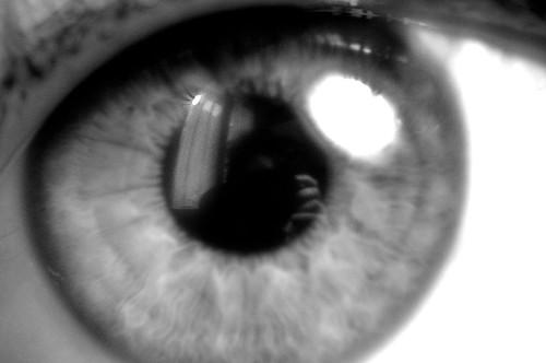 eye close-up study