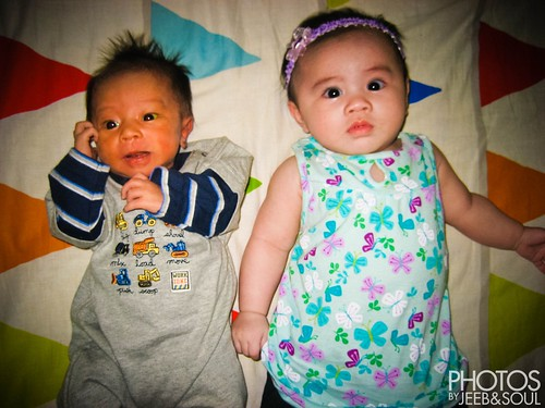 Baby Qeeb and Baby Myra