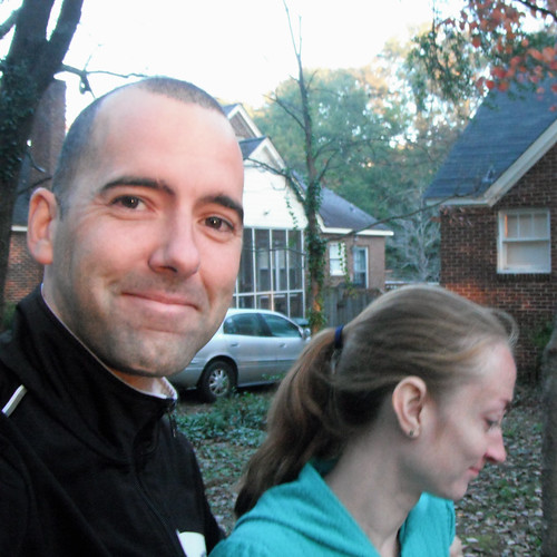 Cara and I at the Shandon Turkey Trot.