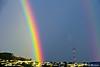 San Francisco lucky double rainbow (davidyuweb) Tags: rainbow san francisco double lucky sfbay sfist supernumerary mywinners abigfave anawesomeshot
