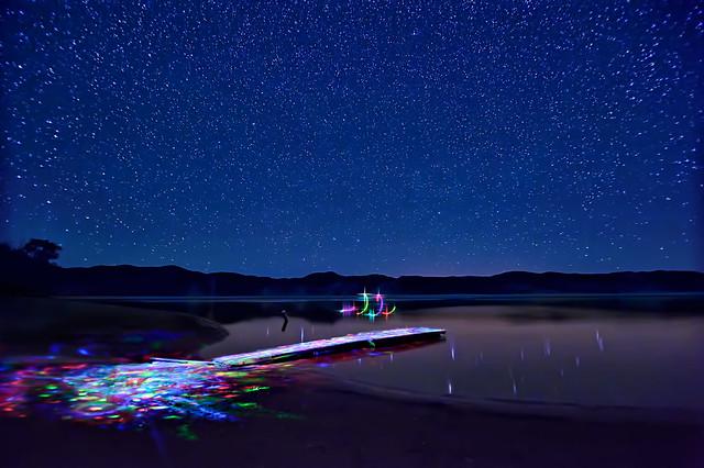 The Light Painter's Dance