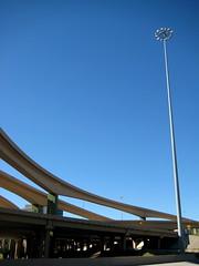 High 5 freeway interchange - changeur autoroutier, Dallas (blafond) Tags: dallas texas tx freeway infrastructure interstate expressway transports autoroute 75 interchange high5 hi5 echangeur centralexpressway autoroutier