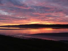 Sunset at Arnside (onthebeast) Tags: uk sunset england bay over lakes places cumbria sands morecambe grange arnside