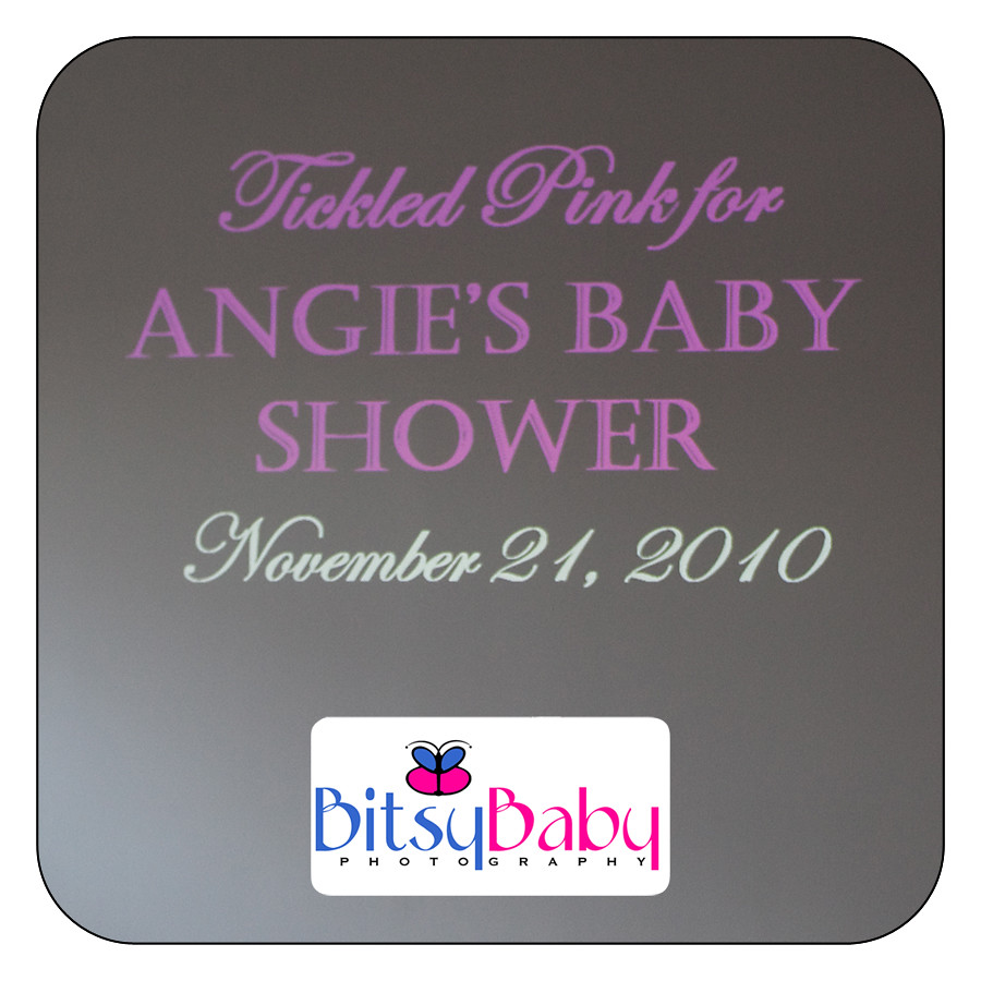 Tickeled Pink at Angie Goff's Baby Shower
