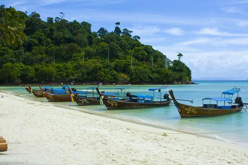 Phi Phi boats