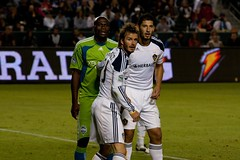 LA Galaxy v Seattle Sounders 2010