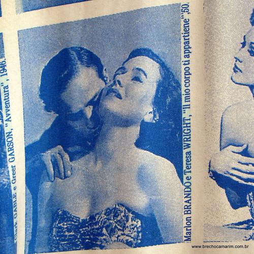 Marlon Brando e Teresa Wright