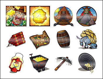 free California Gold slot game symbols