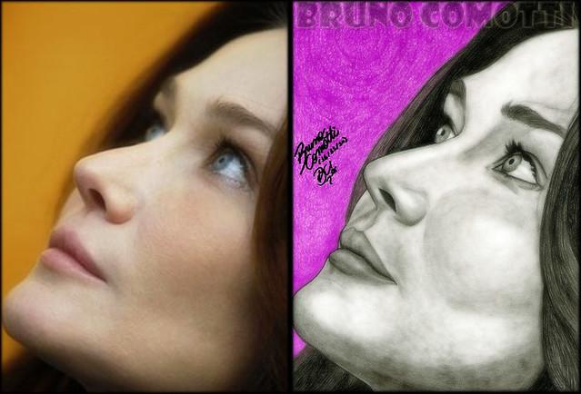 Carla Bruni By Bruno Comotti by Bruno Comotti