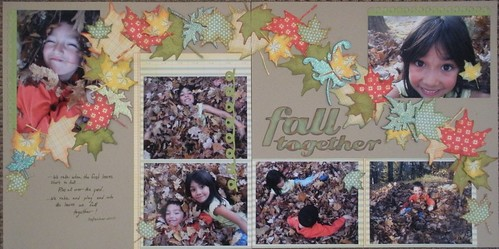 Fall Together Layout
