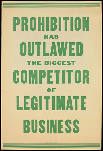 L0064362 Prohibition...reduced organized crime.