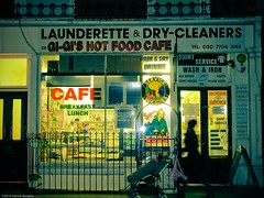 Have breakfast, lunch then wash & dry at Gi-Gi's (Tobymutz) Tags: baby london shop cafe mother paddington laundromat passerby launderette pushchair sandwichbar drycleaners laundrette washeteria craventerrace
