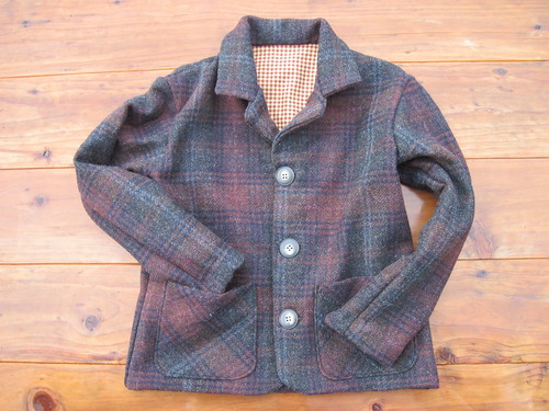 Young Blazer In Wool Plaid