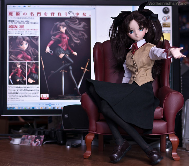 Dollfie Dream DD Rin Tohsaka 遠坂 凛 GSC Unlimited Blade Works version