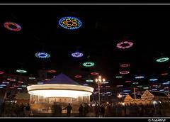 Madrid at Christmas (ivanoivi) Tags: christmas night lights navidad noche plazamayor tiovivo madris