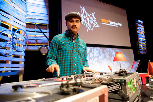 DJ Itchy Ron - TEDx Vancouver 2010 - West Vancouver, BC