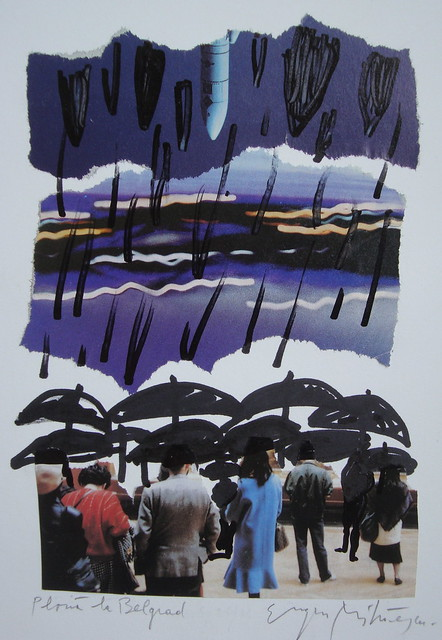 ploua la belgrad