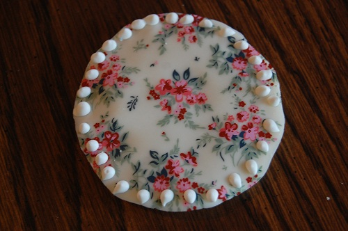 Ladies' Night Cookies in White Chocolate Floral
