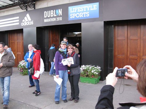 Dublin Marathon 2010 Expo Peggy and Gerri