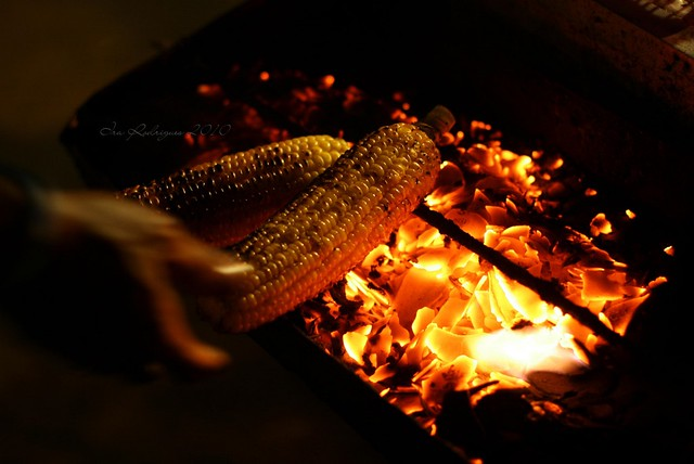 jagung bakar / grilled sweet corn