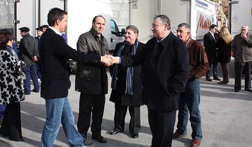 Ignacio Diego celebró San Andrés