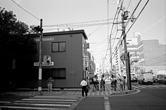 (978) Tags: street travel bw film japan kyoto 28mm   kansai  kshouse fujifilmneopan100acros  fujifilmklassew