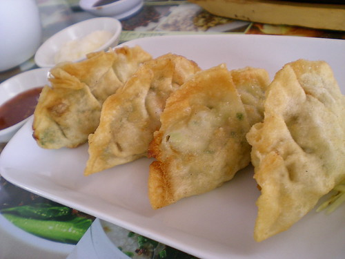 Noodle House's fried dumplings
