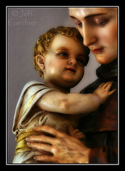 St. Anthony of Padua and the Child Jesus (*Jeff*) Tags: baby church saint statue southdakota catholic child jesus anthony milbank padua