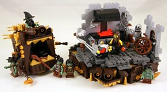 Anvil (Bart De Dobbelaer) Tags: castle lego fantasy vignette anvil smithy minion witchsquest