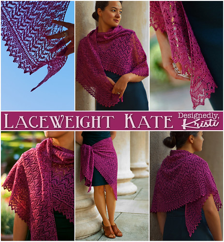 Original Laceweight Kate Shawl