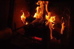 156/365 (laurenabishop) Tags: beauty fire 50mm nikon fireplace flames warmth 365 nikkor sparks laurenbishop