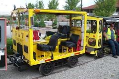 Fairmont A3D - 100_3286 (primemover88) Tags: fairmont a3d speeder railcar excursion narcoa elkins wv west virginia durbin greenbrier valley railroad