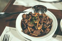 Beef Salpicao (Daniel Y. Go) Tags: fuji fujix100f x100f philippines food beefsalpicao 13ubayst
