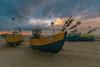 Kutry o zachodzie (strzyrzyc) Tags: polska poland bałtyk sea kutry zachód nikon sigma 1020 pomorze pomorskie sunset beach boats d5100 outdoor