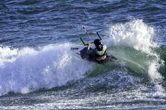 Kitesurfing (punahou77) Tags: kiteboard kitesurfing kitesurfer santacruz punahou77 pacificocean water waves wave stevejordan surfing california beach nikond500 tamron150600mmlens