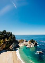 Origins (DEARTH !) Tags: bigsur mcwayfalls lensflare landscape roadtrip dearth sea california highway1 ocean waterfall hdr nd beach coastline northerncalifornia coast pacific pacificocean