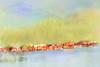 I once lived in a village (BirgittaSjostedt) Tags: village coast water sea mountain nature paint painting texture highcoast worldheritagelist sweden magicunicornverybest ie irgittasjostedt